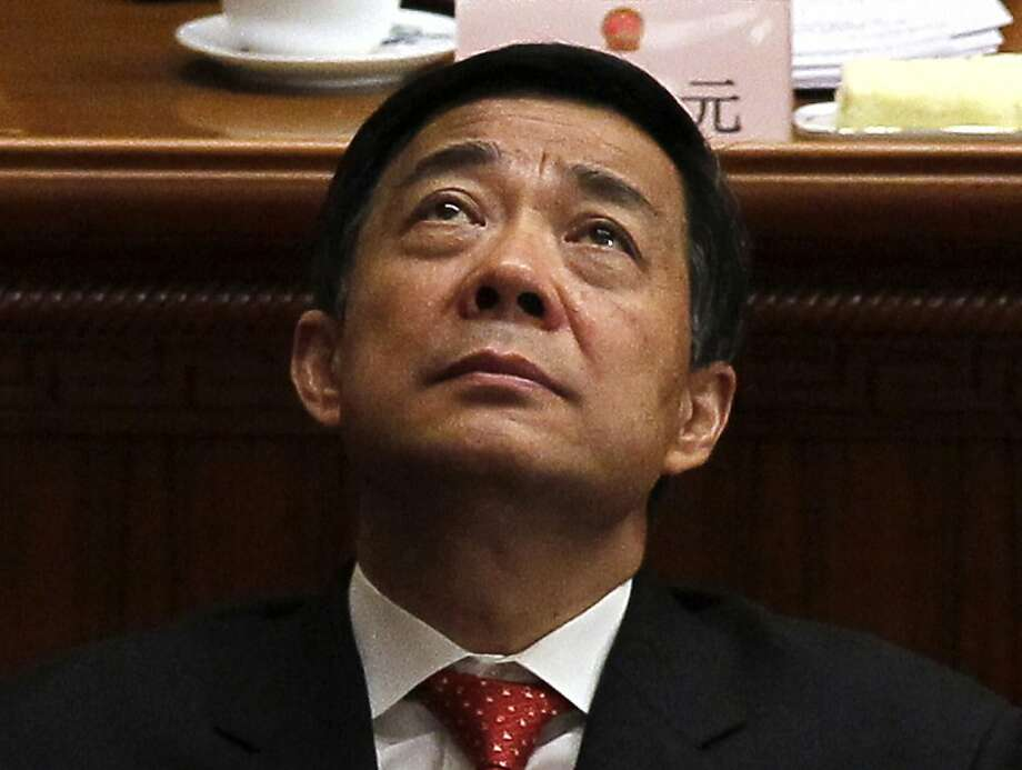 Disgraced politician Bo Xilai was expelled from the party. Photo: Ng Han Guan, Associated Press