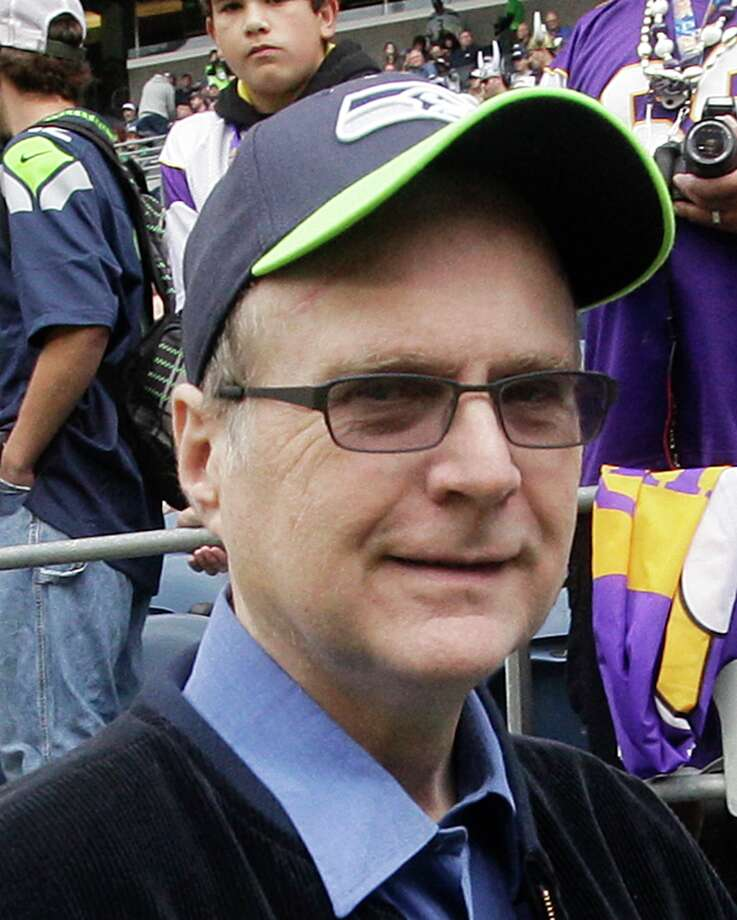 Seattle Seahawks owner Paul Allen walks on the field prior to an NFL football game against the Minnesota Vikings, Sunday, Nov. 4, 2012, in Seattle. Photo: AP