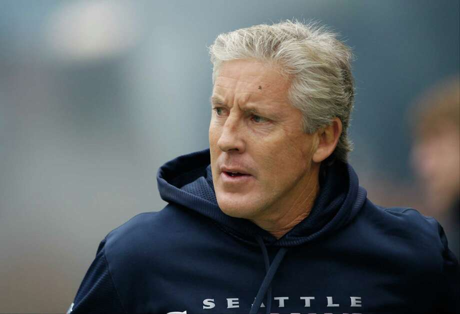 Seattle Seahawks head coach Pete Carroll walks on the field before an NFL football game against the Minnesota Vikings, Sunday, Nov. 4, 2012, in Seattle. Photo: AP
