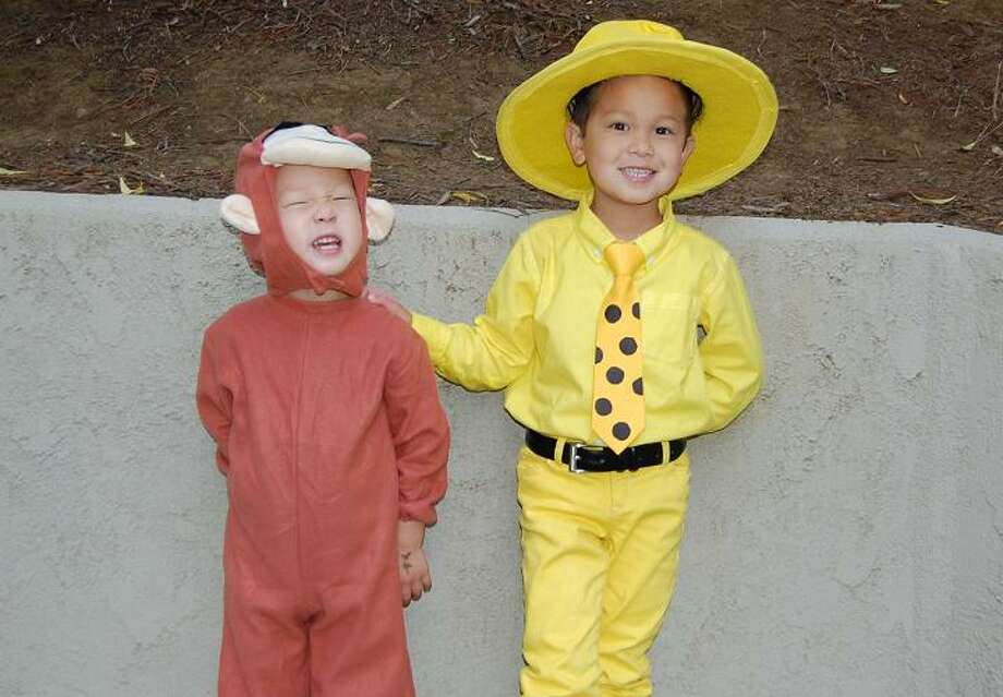 FINALIST! Curious George and The Man With the Yellow Hat Photo: Picasa
