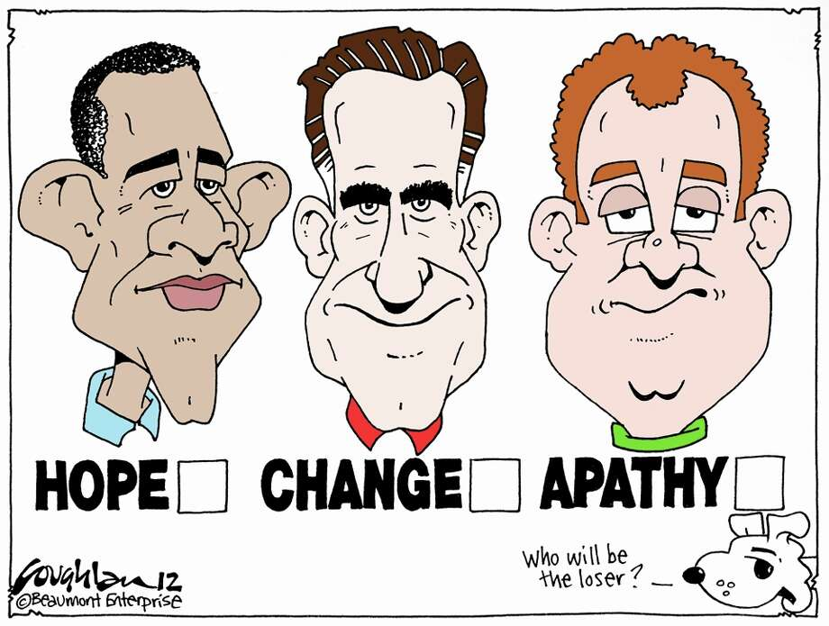 Andy Coughlan's cartoon for Sunday, November 4, 2012.