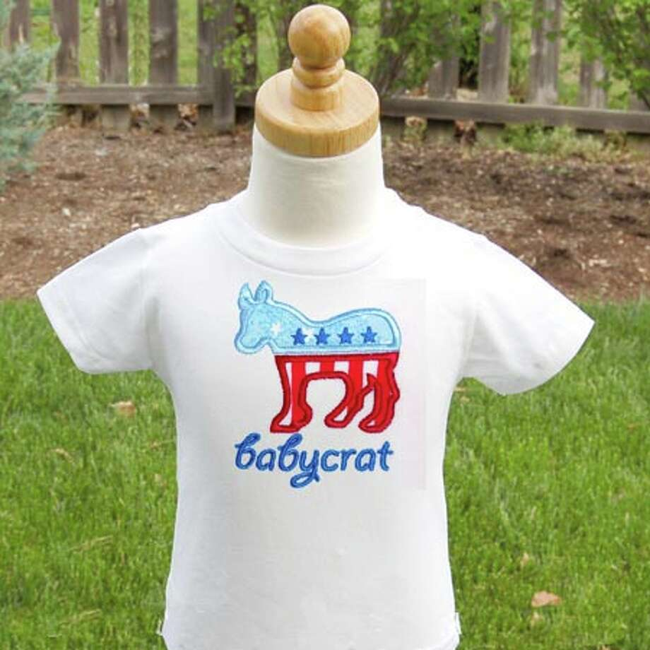 Do you have a budding Babycrat in the family? belladue.com.