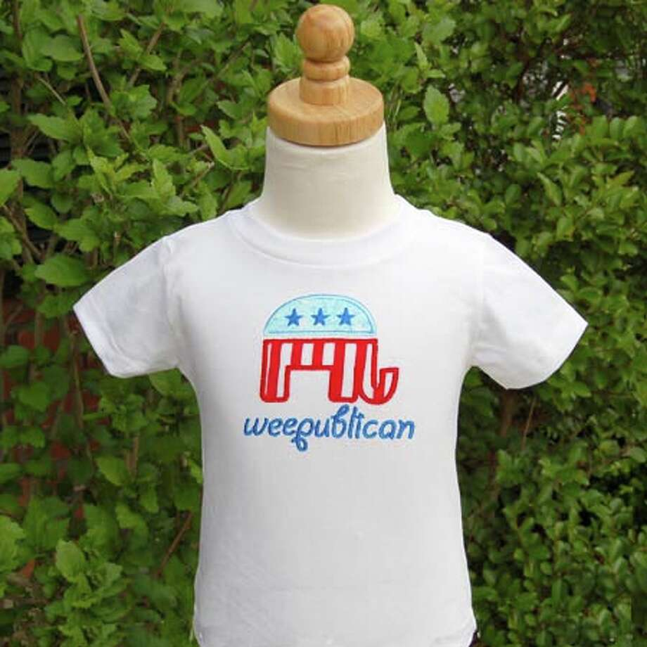 Do you know a baby that was born to be a Weepublican? belladue.com.