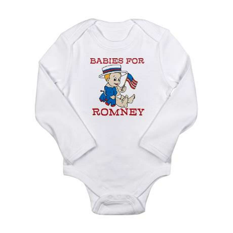 Babies for Romney, cafepress.com.