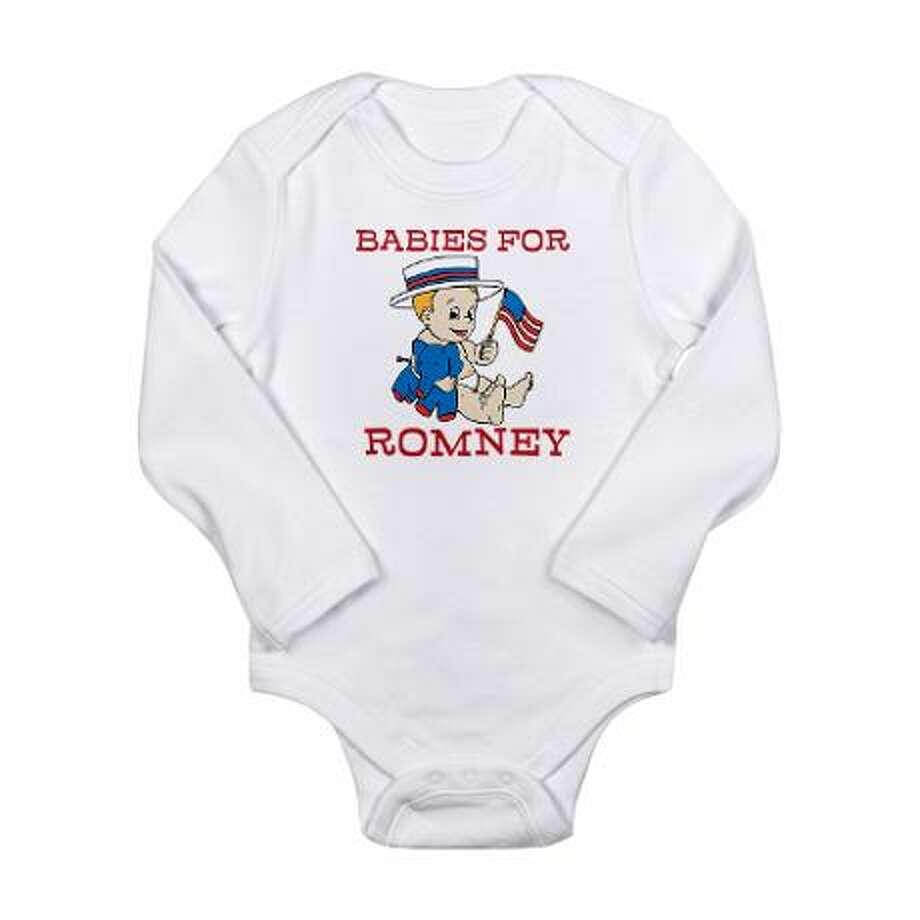 Babies for Romney, cafepress.com.