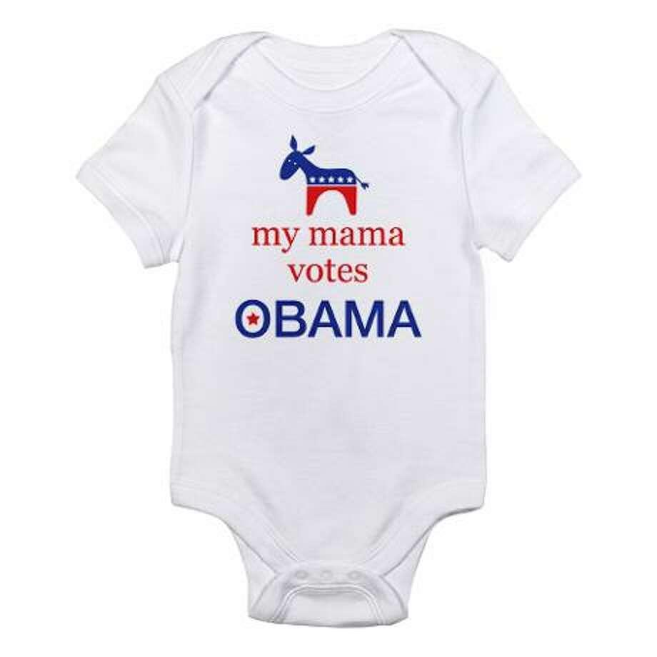 My mama votes for Obama, cafepress.com.