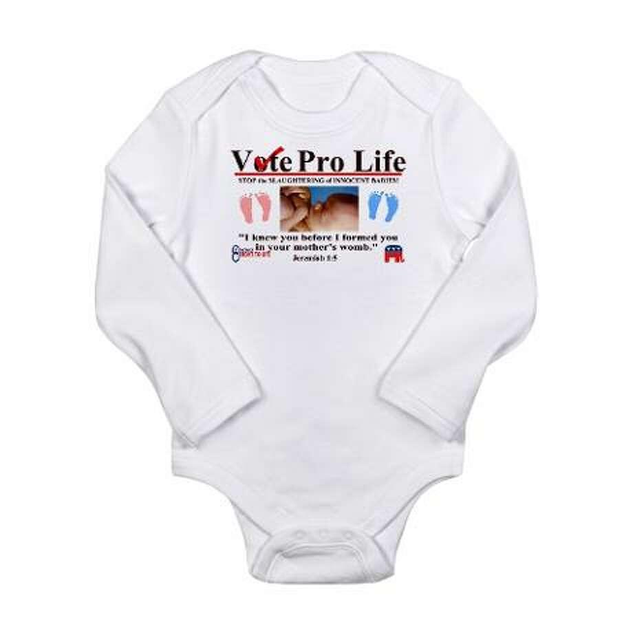 Vote pro-life, cafepress.com.