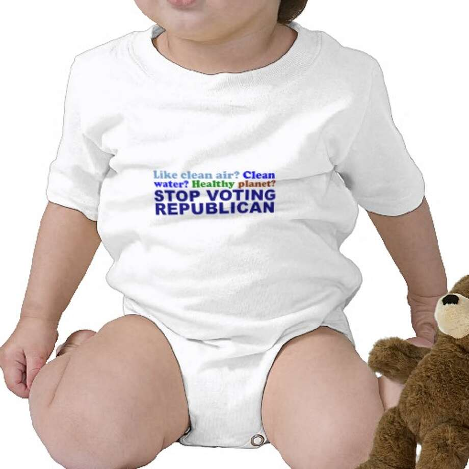 Like clean air? Clean water? Healthy planet? Stop voting Republican, zazzle.com.