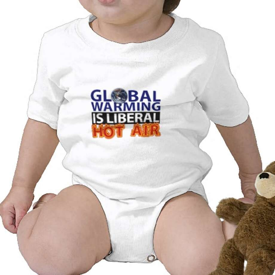 Global warming is liberal hot air, zazzle.com.