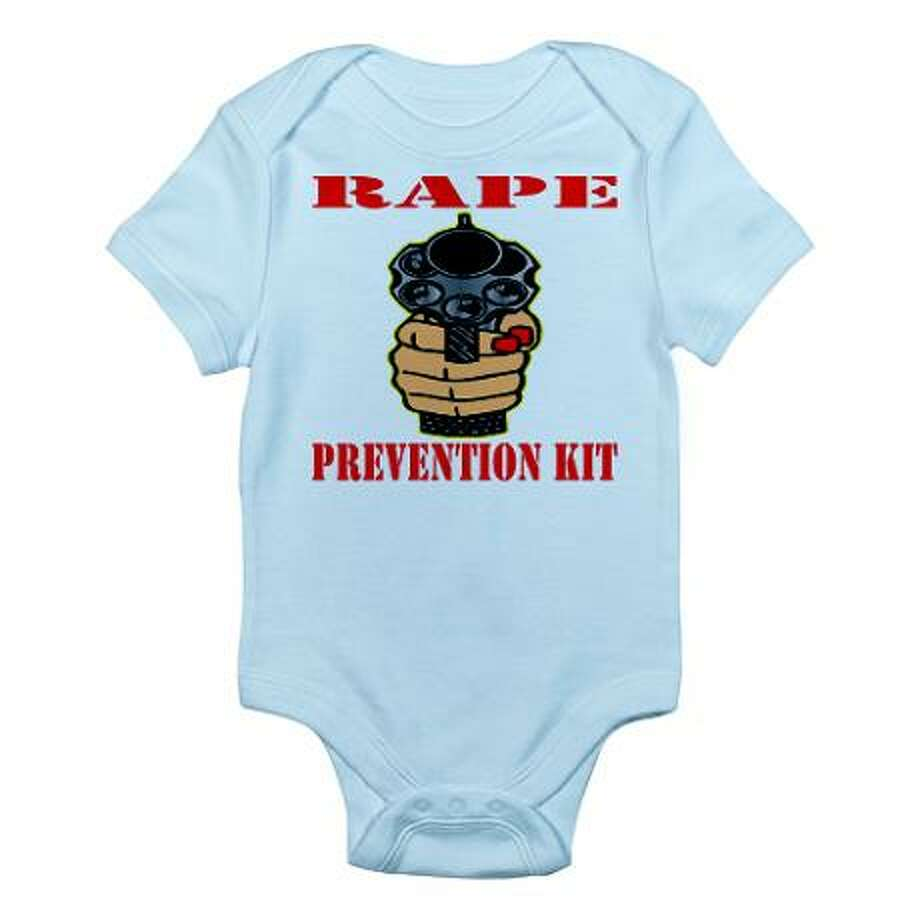 Rape prevention, cafepress.com.