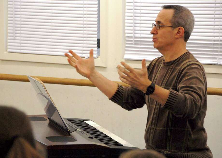 David Friedman, who teaches voice and conducts vocal performance workshops for the Performing Arts Conservatory of New Canaan, is the composer for the soon-to-open Broadway musical âÄúScandalous: The Life and Trials of Aimee Semple McPherson.âÄù Photo: Contributed Photo, Contributed