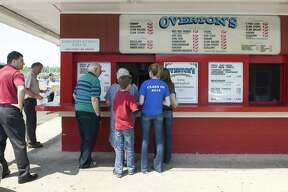 In this file photo, a lunch crowd begins to gather at Overton's in East Norwalk.   Kathleen O'Rourke/Staff photo