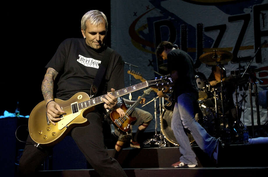 Art Alexakis of Everclear recently showed up in this documentary about fatherhood.  Photo: BRETT COOMER, SPECIAL TO THE CHRONICLE / FREELANCE