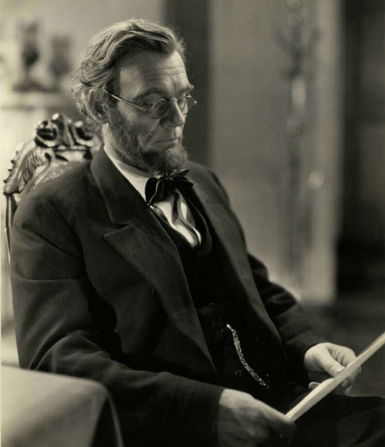 "Walter Huston as Abraham Lincoln in ""Abraham Lincoln"""