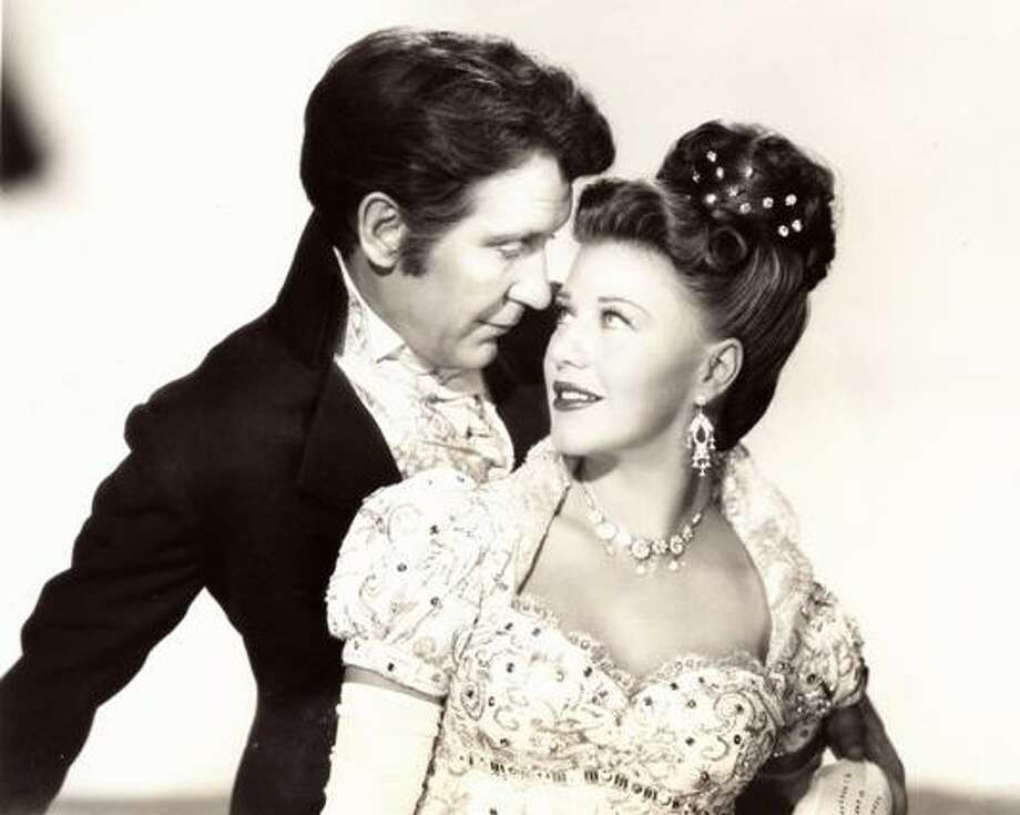 "Burgess Meredith as James Madison in ""Magnificent Doll"" (with Ginger Rogers)"