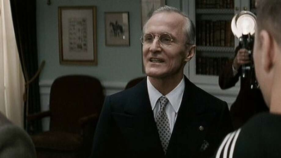 "David Patrick Kelly as Harry S. Truman in ""Flags of Our Fathers"""