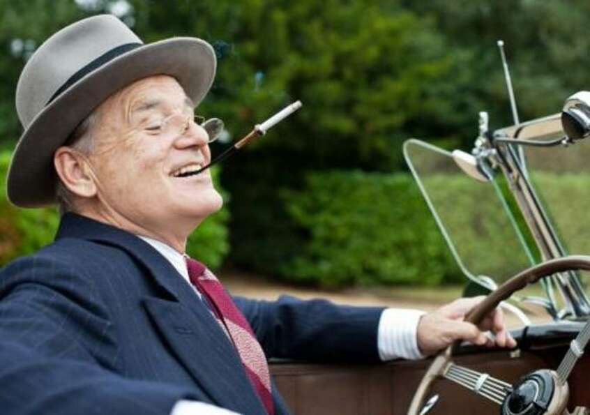 "Bill Murray as Franklin D. Roosevelt in ""Hyde Park on Hudson"" (opening Dec. 7)"