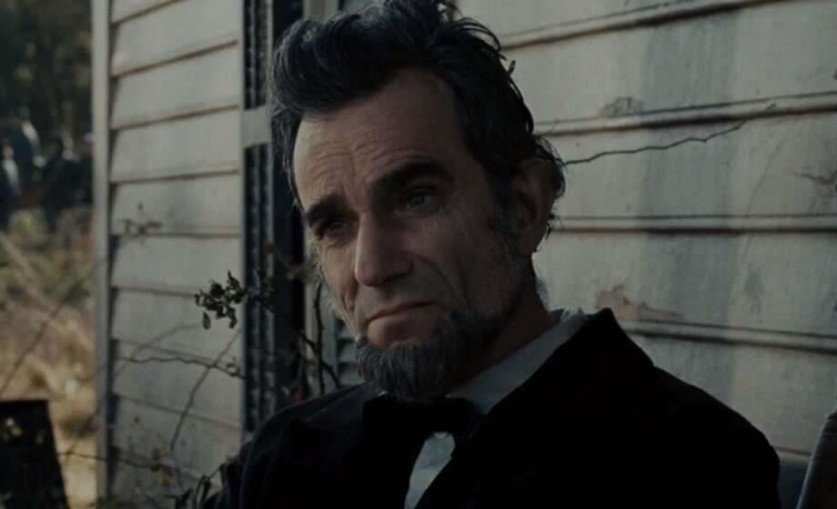 "Daniel Day-Lewis as Abraham Lincoln in ""Lincoln"" (opening in limited theaters Nov. 9; nationwide Nov. 16)"