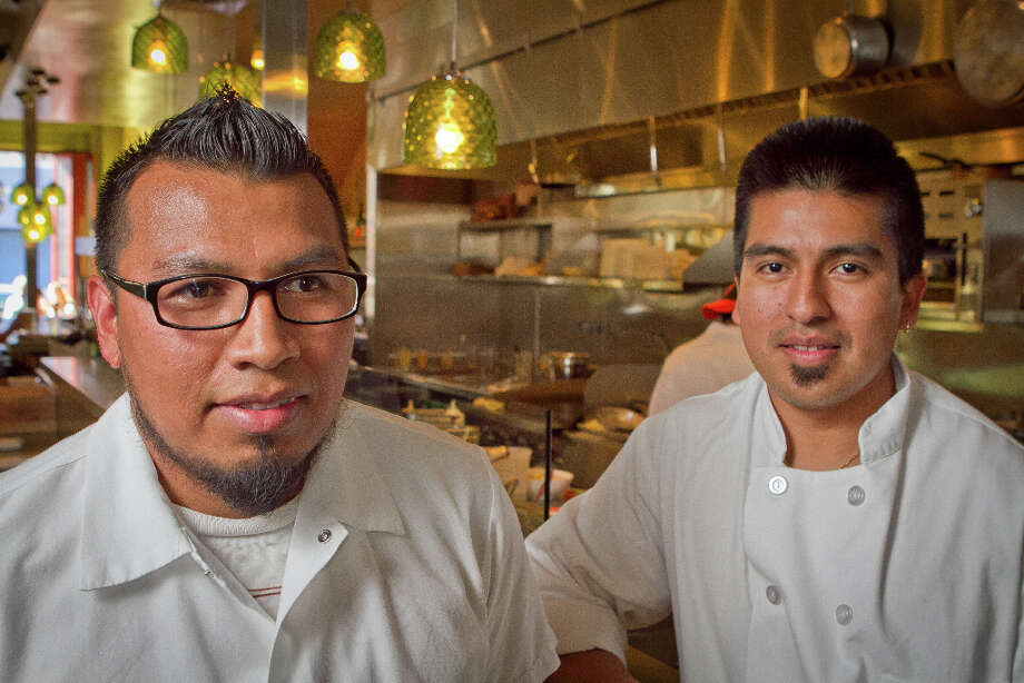 """I'm happy to say my visits showed that the new Nopalito is every bit as good as its predecessor. Plus, from what I tasted last weekend at the original, that location is holding up just fine, too."" Pictured: Chefs Jose Ramos (left) and Gonzalo Guzman of Nopalito Photo: John Storey, Special To The Chronicle / John Storey"