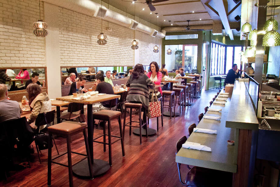 Diners enjoy dinner at Nopalito in San Francisco, Calif., on Saturday, October 27th, 2012. Photo: John Storey, Special To The Chronicle / John Storey