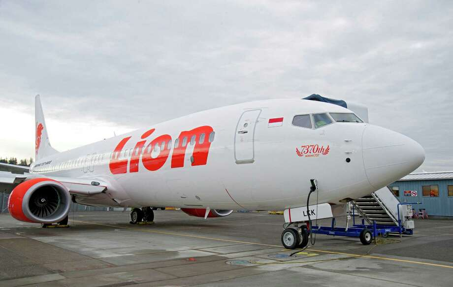 Boeing's 7,370th 737, for Lion Air, is shown at Boeing Field in Seattle. Photo: Jessica Oyanagi/ Boeing / Copyright © 2012 Boeing. All Rights Reserved.