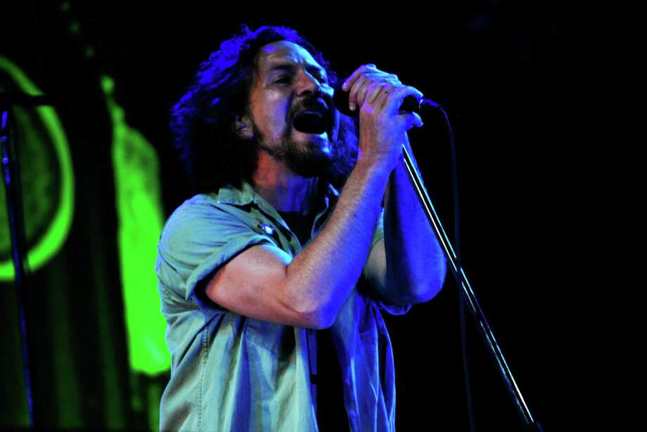 Pearl Jam survived the grunge era to remain relevant.  Photo: LeeRoy Holmes, For The Chronicle / Freelance