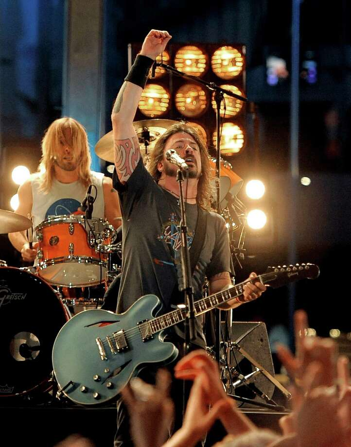 Foo Fighters never stopped cranking out hits, but they appear to be going on a break.  Photo: Chris Pizzello, Associated Press / AP