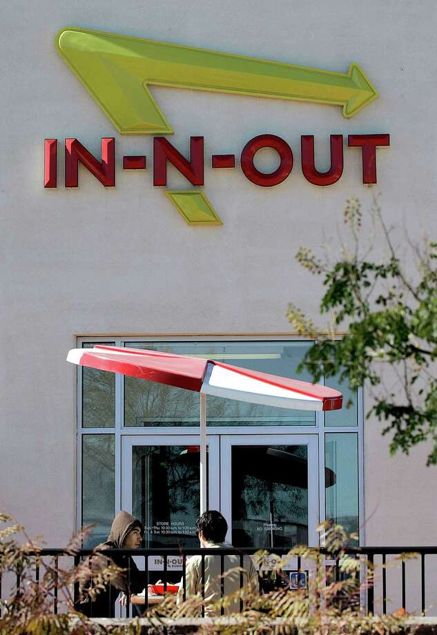 In-N-Out Burger caused quite a stir when it opened two restaurants in the Dallas suburbs of Allen and Frisco, with one YouTube video showing 150 cars parked in the drive-through line. Whether the chain plans to come to Houston remains to be seen. Photo: Matt York, AP / AP