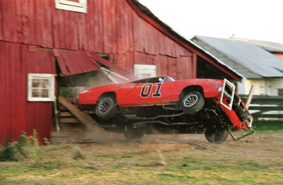 The Dukes of Hazzard: A Dodge Charger was used in the television series. The famous car was known as the General Lee. Photo: 2005 Warner Bros. Entertainment Inc.