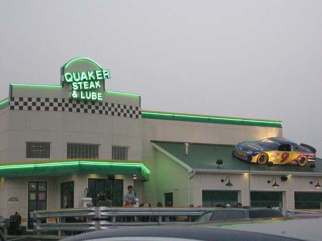 You can't get an oil change at Quaker Steak and Lube. The chain is actually known for its chicken wings. But it still seems worth a try, if you're willing to go to Carrolton or Waco. The restaurant's website states a Plano location is also on the horizon. Credit: Devon Persing/Flickr Creative Commons