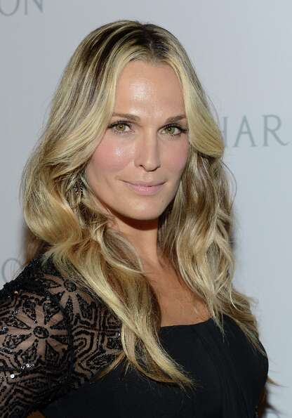 Actress Molly Sims attends the First Annual Baby2Baby Gala event presented by Harry Winston honoring