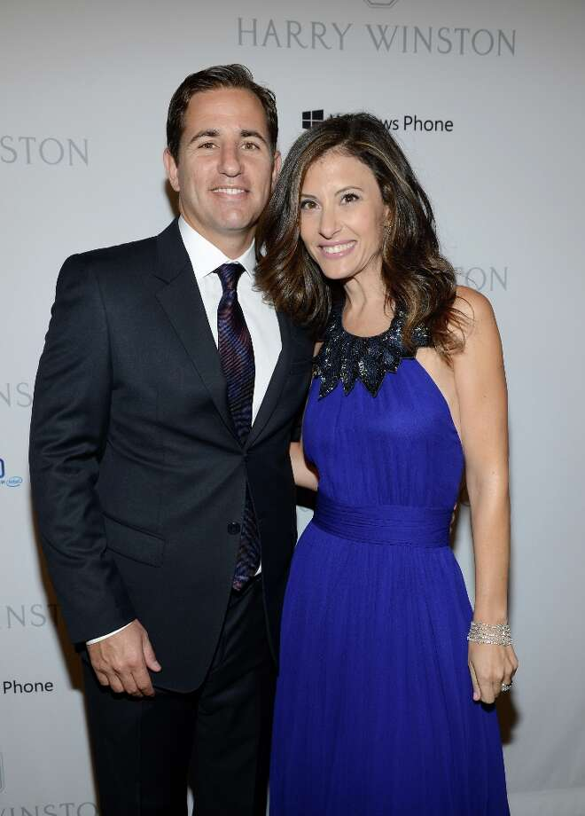 CAA Business development executive Brian Weinstein (L) and Baby2Baby Co-President Norah Weinstein attend the First Annual Baby2Baby Gala event presented by Harry Winston honoring Jessica Alba at Book Bindery on November 3, 2012 in Culver City, California.  (2012 Getty Images) Photo: Michael Buckner / 2012 Getty Images