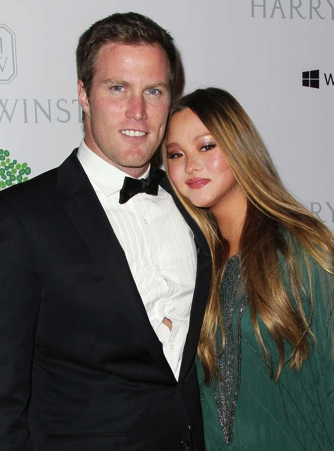 Actress Devon Aoki (R) and husband financier James Bailey attend the 1st Annual Baby2Baby Gala at The BookBindery on November 3, 2012 in Culver City, California. Photo: David Livingston, Getty Images / 2012 Getty Images