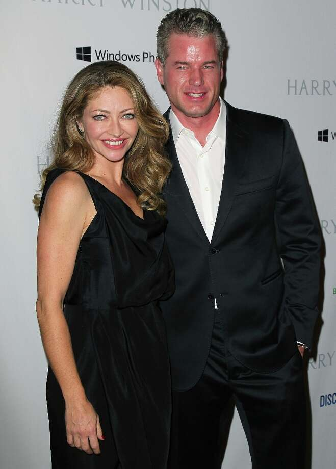 Actress Rebecca Gayheart (L) and husband actor Eric Dane attend the 1st Annual Baby2Baby Gala at The BookBindery on November 3, 2012 in Culver City, California. Photo: David Livingston, Getty Images / 2012 Getty Images