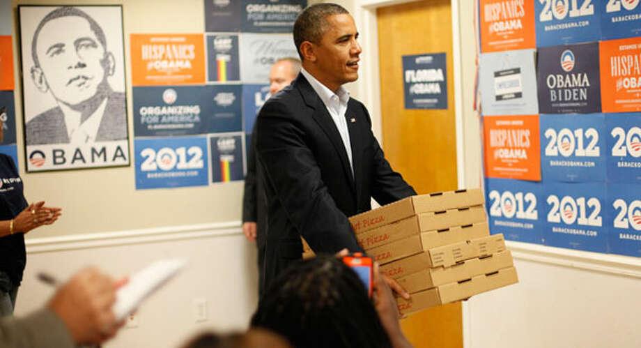 President Barack Obama Photo: Pablo Martinez Monsivais