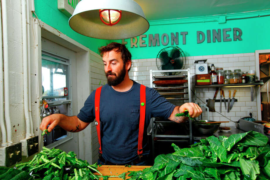 Chad Harris, chef and owner of The Fremont Diner. Photo: Craig Lee, Special To The Chronicle / ONLINE_YES