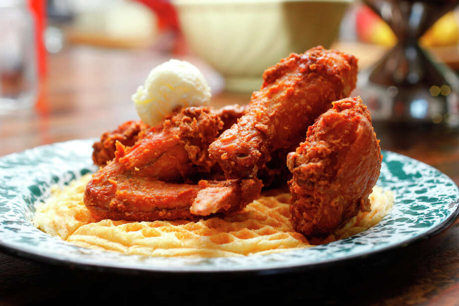 Fried Chicken and Waffles. Photo: Craig Lee, Special To The Chronicle / ONLINE_YES