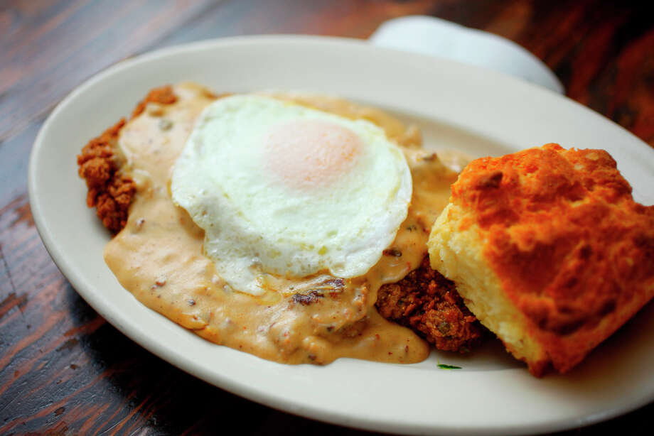 Chicken Fried Steak. Photo: Craig Lee, Special To The Chronicle / ONLINE_YES