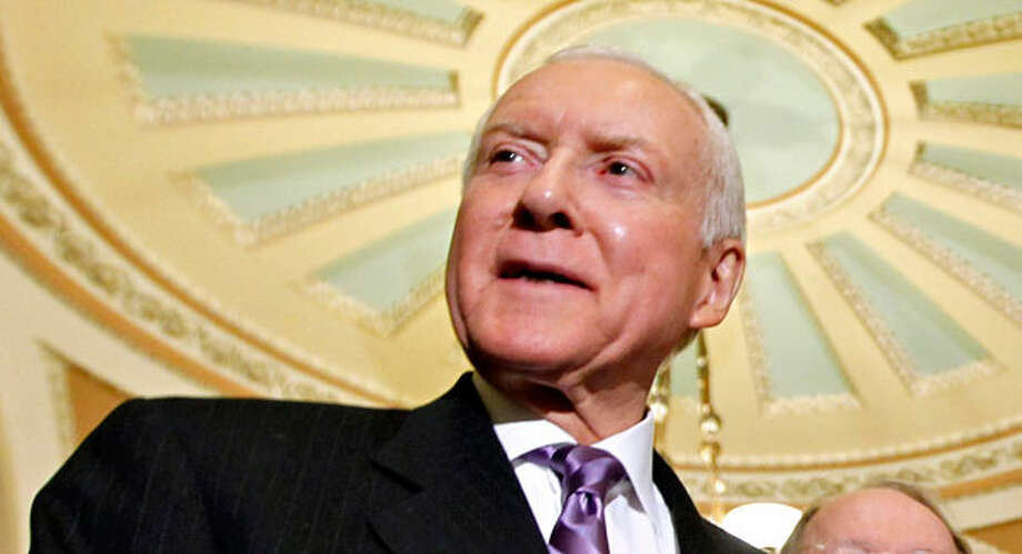 "Sen. Orrin Hatch, R-Utah, accused the Obama administration of ""an apparent effort to whip up uncertainty in the markets."" Photo: J. Scott Applewhite"