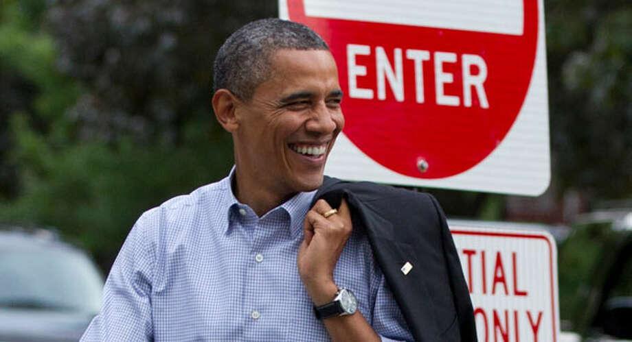 President Barack Obama Photo: Carolyn Kaster