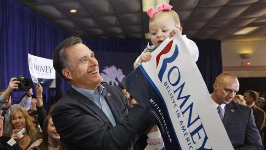 Republican presidential candidate, former Massachusetts Gov. Mitt Romney  (Charles Dharapak / AP Photo)