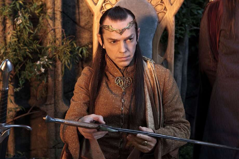 "HUGO WEAVING as Elrond in New Line Cinema's and MGM's fantasy adventure ""THE HOBBIT: AN UNEXPECTED JOURNEY,"" a Warner Bros. Pictures release."
