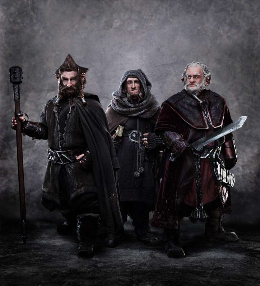 "(L-r) Jed Brophy as Nori, Adam Brown as Ori and Mark Hadlow as Dori  in New Line Cinema's and MGM's fantasy adventure ""THE HOBBIT: AN UNEXPECTED JOURNEY,"" a Warner Bros. Pictures release."
