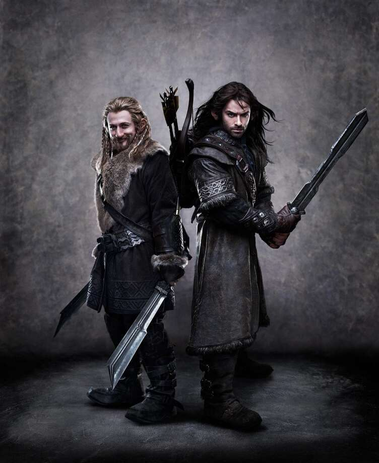 "(L-r) DEAN O'GORMAN as Fili and AIDAN TURNER as Kili in New Line Cinema's and MGM's fantasy adventure ""THE HOBBIT: AN UNEXPECTED JOURNEY,"" a Warner Bros. Pictures release."