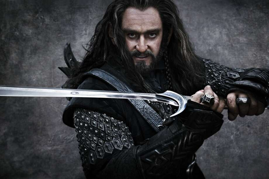 "RICHARD ARMITAGE as Thorin Oakenshield in New Line Cinema's and MGM's fantasy adventure ""THE HOBBIT: AN UNEXPECTED JOURNEY,"" a Warner Bros. Pictures release."