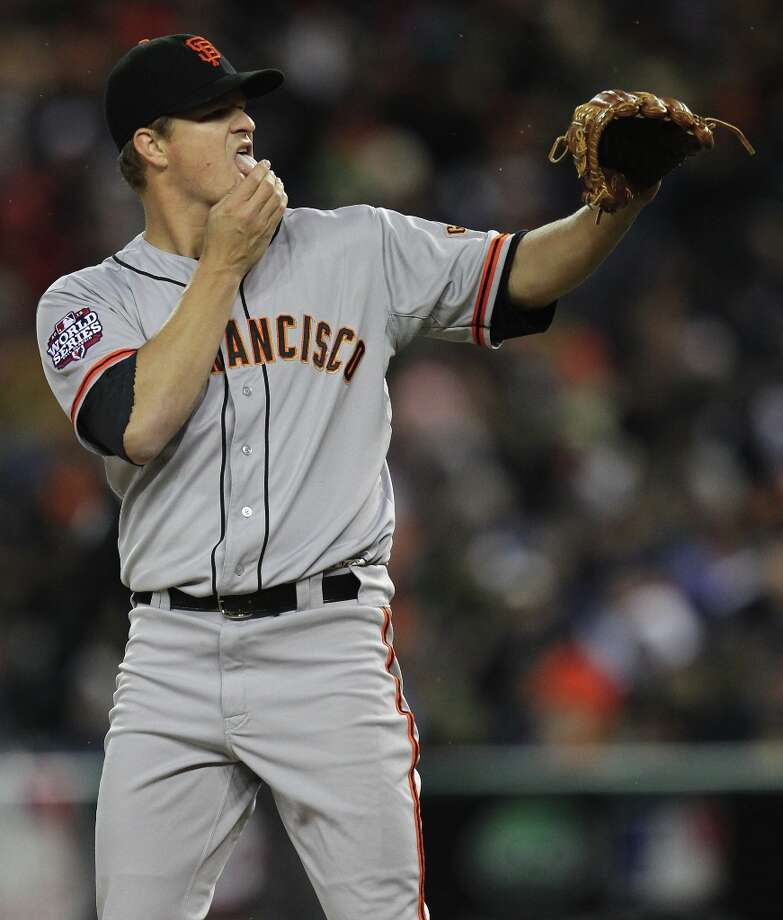 ... Matt Cain Photo: Lance Iversen, The Chronicle / ONLINE_YES
