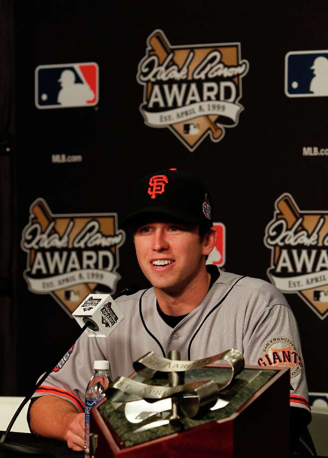 ... Buster Posey Photo: Michael Macor, The Chronicle / ONLINE_YES