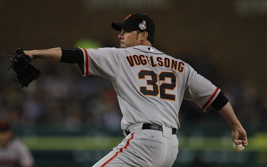... Ryan Vogelsong Photo: Lance Iversen, The Chronicle / ONLINE_YES