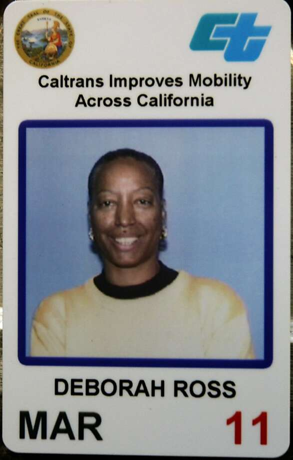 A Caltrans employee ID shows victim Deborah Ross. Photo: Courtesy Of Tyrice Ross