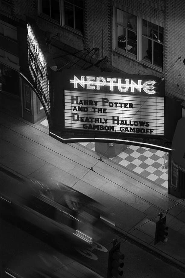 Here's one of the last movies shown at the Neptune. Photo by thales, Creative Commons Flickr. Seattle has had a rich history with opulent movie palaces, which is depicted in the following photos. Enjoy! Photo: /